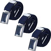AWAYTR Cinturón magnético elástico para niños pequeños - Cinturones elásticos con hebilla ajustable Cinturones para…