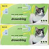 Large Drawstring Valu-Pak Cat Pan Liners, 20 Count (Pack of 2) Total 40