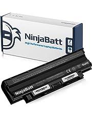 NinjaBatt Laptop Battery for Dell J1KND Inspiron N5110 N7110 N5050 N7010 N5010 N4110 N4010 N5040 N5030 M5030 3520 15R 17R Vostro 1540 3750 3550 312-1201 312-0234 - High Performance [6 Cells/4400mAh]