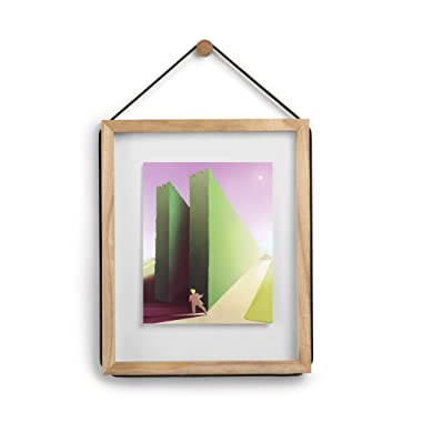 Umbra Corda Photo Display, 11 by 14-Inch/8 by 10-Inch Float, Natural