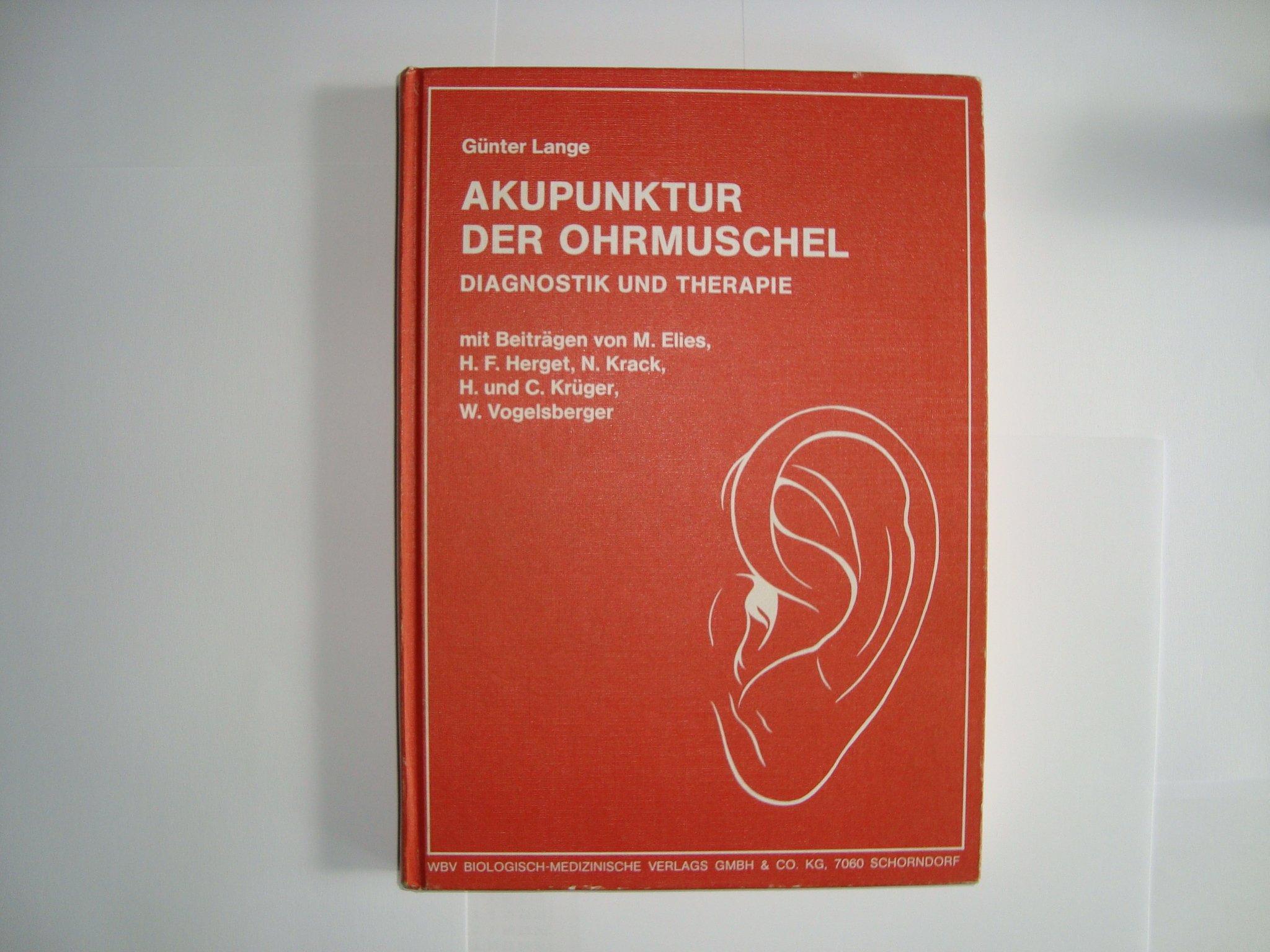 Akupunktur der Ohrmuschel  Diagnostik und Therapie