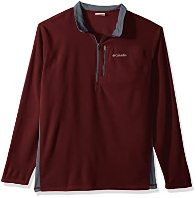 Columbia Men's Lost Peak Half-Zip Fleece Pullover Top at Amazon ...