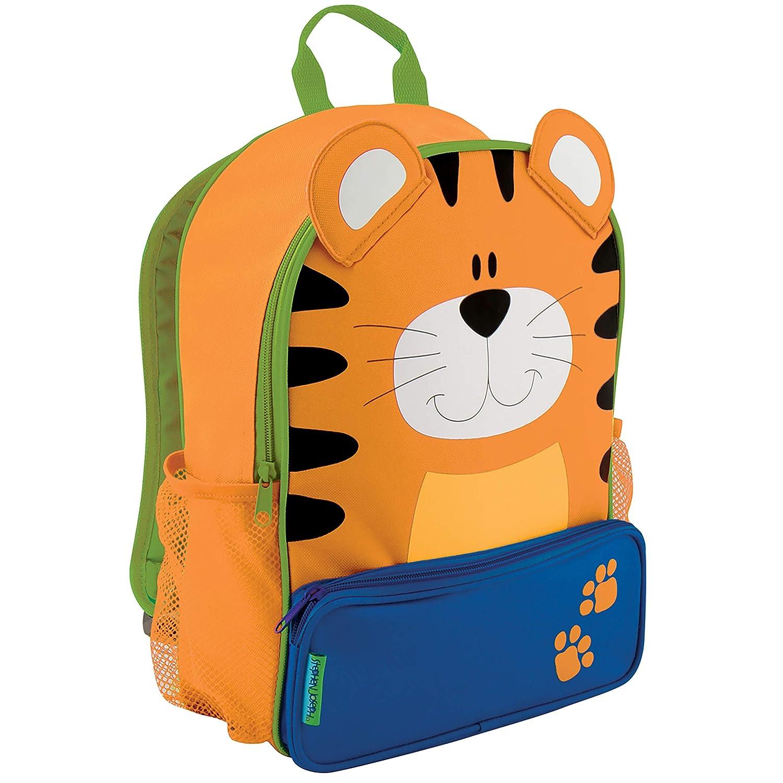 Tiger Stephen Joseph Girls' Little Sidekicks Backpack, Owl, Navy, Size