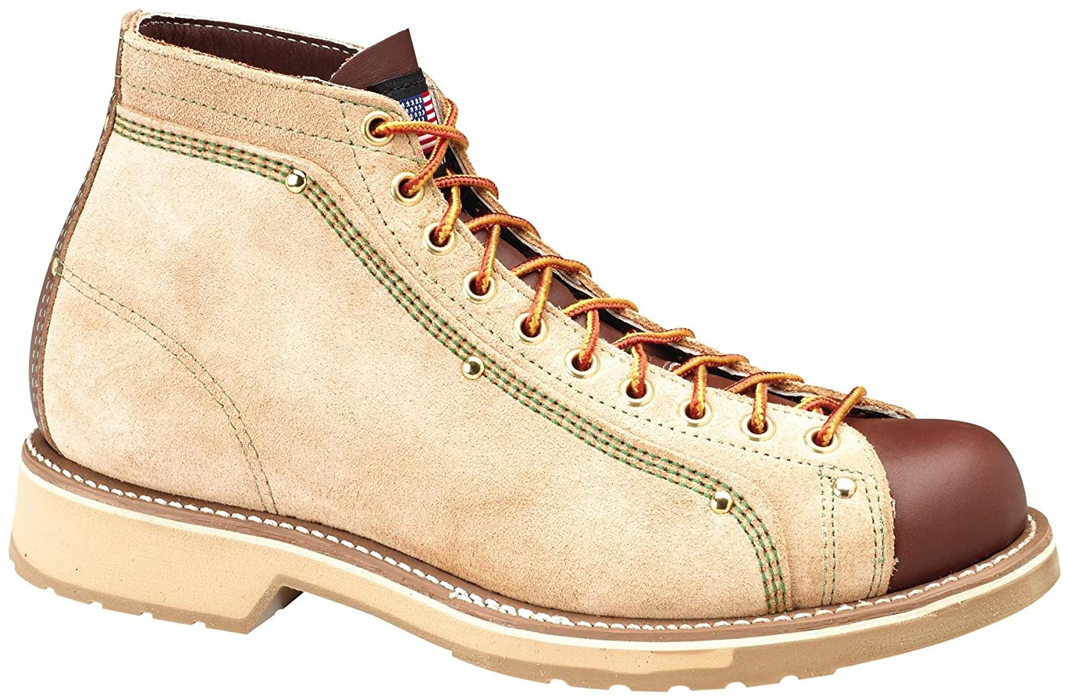 c6bc486ad1c Thorogood Men's Roofer Ankle Boots, Brown, 14 E: Amazon.co.uk: Shoes ...