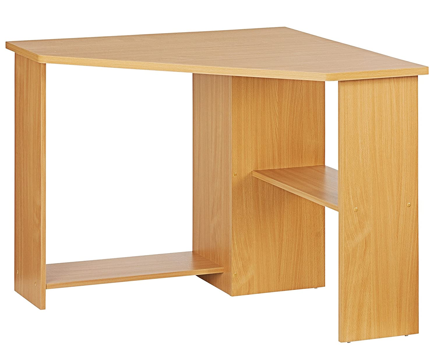 office corner desks. Function Home Office Corner Desk - Color: Beech Effect: Amazon.co.uk: Products Desks