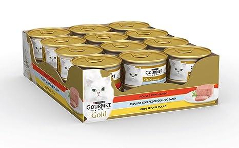 GOURMET Latas Mousse 24 Piezas Producto Para animales Comida ...