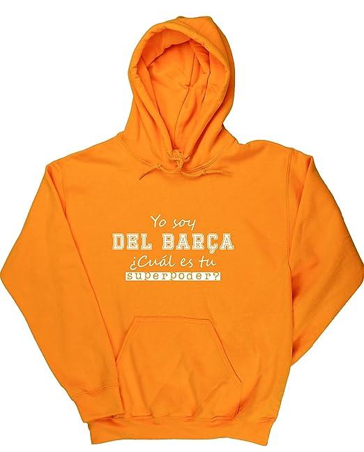 HippoWarehouse Soy del Barça, ¿Cuál es tu Superpoder? jersey sudadera con capucha suéter derportiva unisex: Amazon.es: Ropa y accesorios