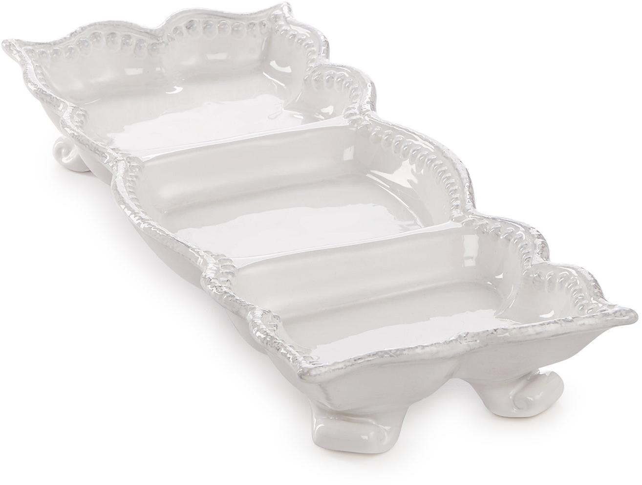 Maison versailles blanc divided relish dish serveware dining entertaining macy s bridal and