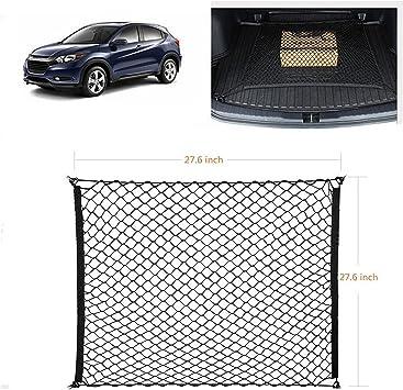 SUV Organizer Nylon Storage per Auto Van-Nero Bungee Mesh Rete di carico Estensibile Universale con Ganci Ruesious Rete di Trasporto SUV per carichi Pesanti Elastica Regolabile