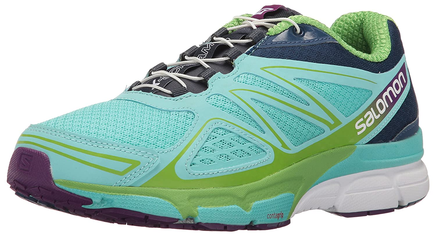 Salomon Women's X-Scream 3D B017USZQ08 W Trail Running Shoe B017USZQ08 3D 8 D US|Bubble Blue/Blue Depth/Tonic Green c1d1e9