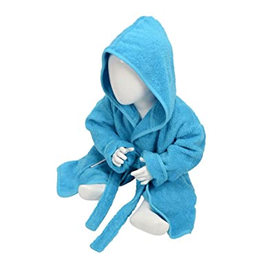 Amazon.com  A R Towels Baby Toddler Babiezz Hooded Bathrobe  Clothing 154cf9c79