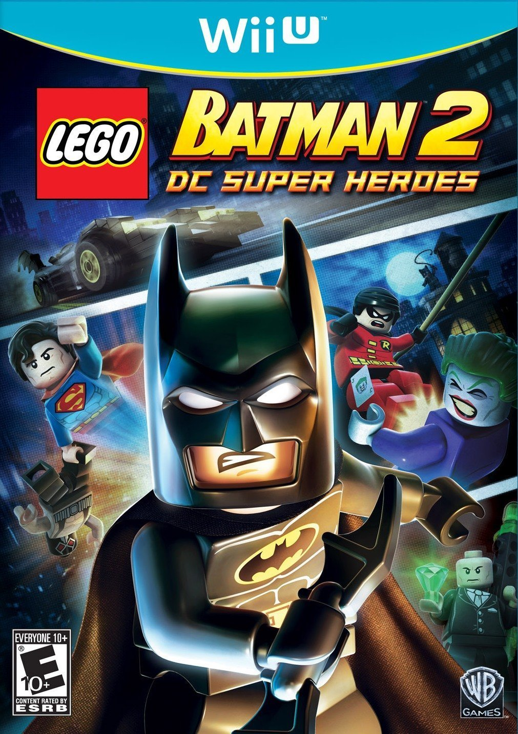 is lego batman a 2 player game