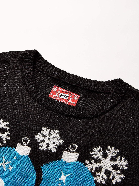 Hybrid Apparel Mens Ugly Christmas Sweater