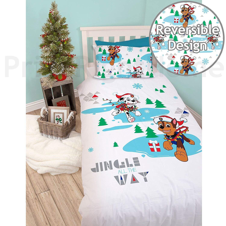 Snowdog Design Perfect Christmas Bedding Paw Patrol Single ...