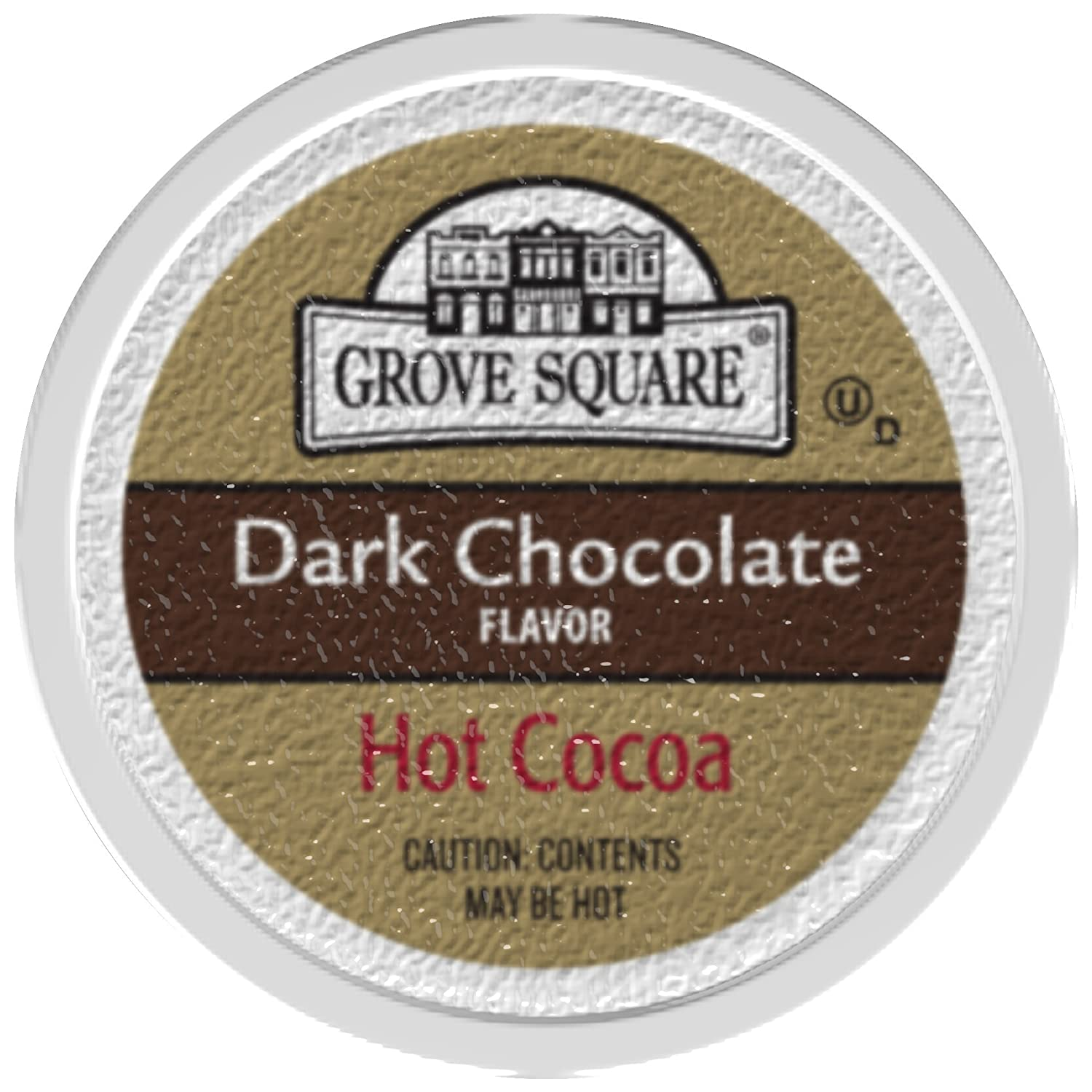 Amazon.com : Grove Square Hot Cocoa, Dark Chocolate, 24 Single ...
