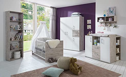 Babyzimmer komplett  Babyzimmer, komplett, Komplettset, Kinderzimmer, Babybett ...