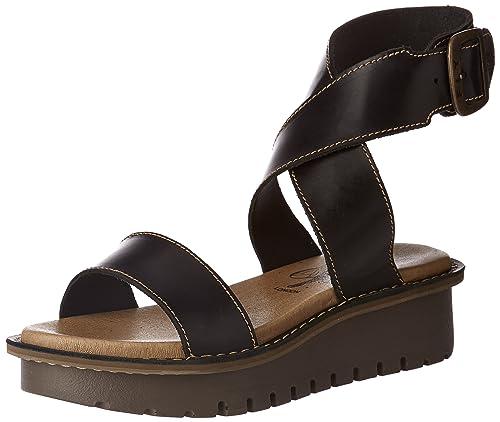 6122e1ffeffd Fly London Women s Kiba465fly Heels Sandals  Amazon.co.uk  Shoes   Bags