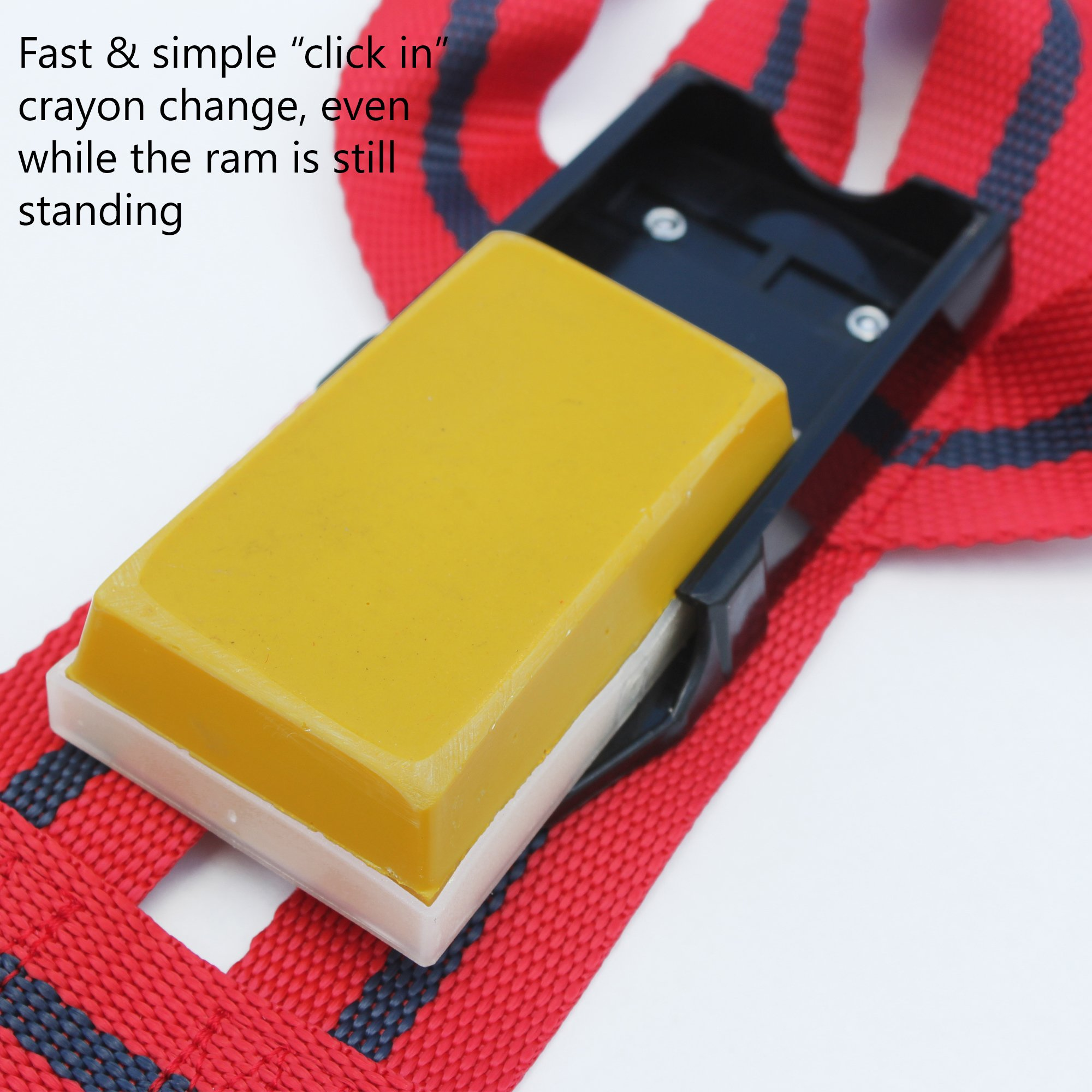 MATINGMARK Deluxe Ram Marking Harness for Monitoring Breeding Sheep & Goats by Rurtec, Crayon Block Marker System, Made in New Zealand - Standard Size (Crayon Sold Separately) by MATINGMARK (Image #6)