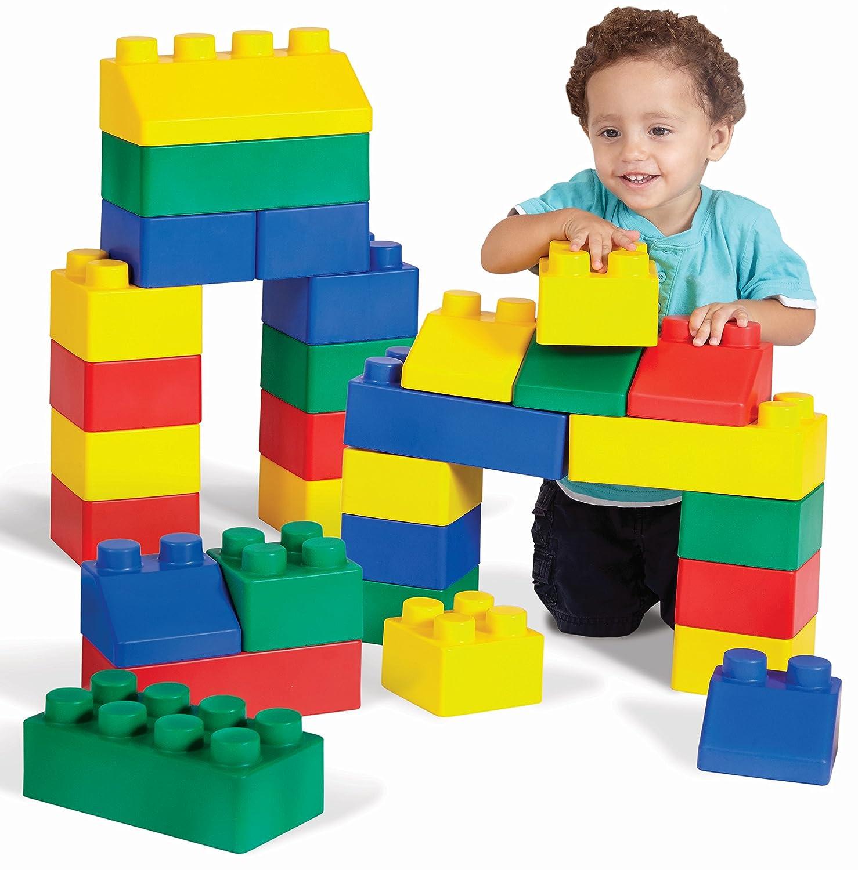 Edushape Edublocks Construction Toy 50 pcs Amazon Toys