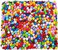 2000 Stück 6 mm Verschiedene Pom Poms für Handwerk Making, Hobby Supplies und DIY Creative Crafts Dekorationen