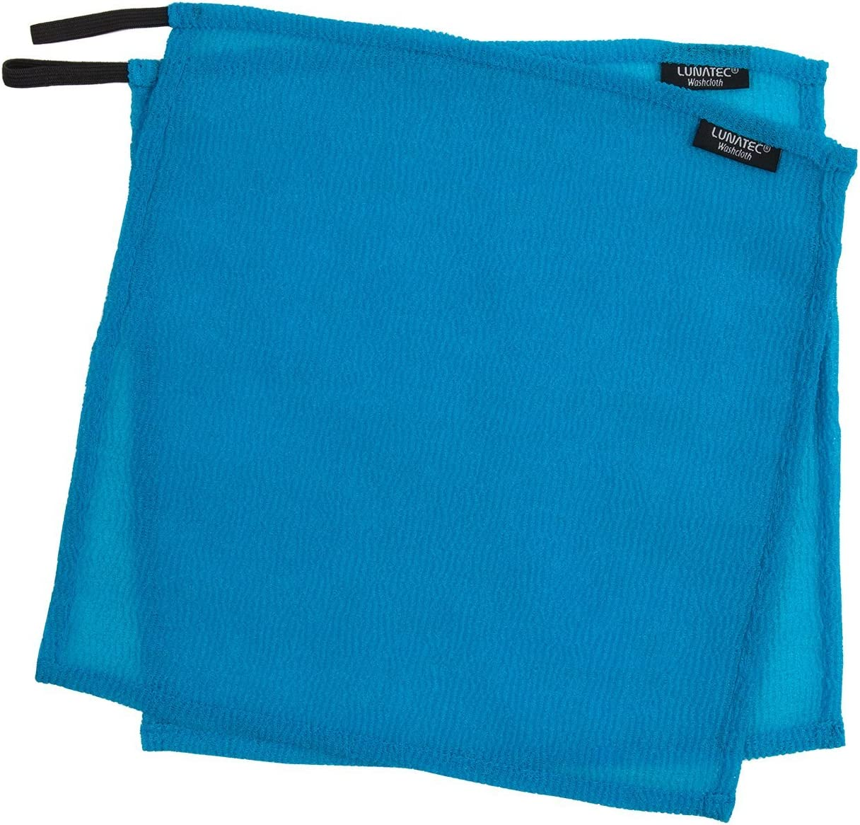 Lunatec Self-Cleaning Travel Washcloth. Odor-Free, Quick Drying & Light Exfoliation. Wash Cloth is Ideal for Camping, Backpacking, Showers, Gyms & Boating. Compliments Any Towel.