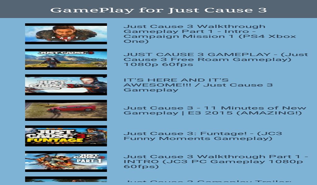 Guide for Just Cause 3: Amazon.es: Appstore para Android