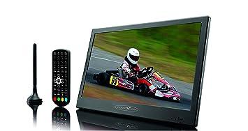 """Reflexion LED1017T2HD - Televisión portátil de 10"""" (led tv con antena DVB-T"""