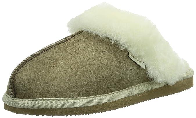Shepherd JESSICA SLIPPER, Damen Pantoffeln, Grau (Antique Grey 21), 38 EU
