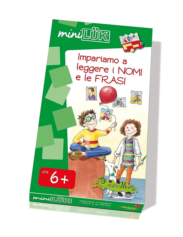 CreativaMente LKM-S36 - Libro Gioco Miniluk Nomi e Frasi 45896ead3830