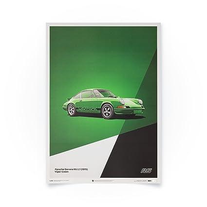 Vintage Porsche Carrera RS Advertisement Poster A3//A4 Print