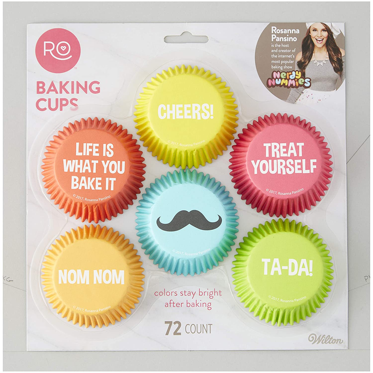 Wilton 415-4136 Baking Cases, Paper, Assorted