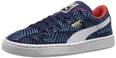 PUMA Suede Geofetti JR Sneaker (Little Kid Big Kid)  7d6da927d298