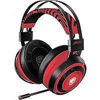 Razer Nari Ultimate Wireless 7.1 Surround Sound Gaming Headset: THX Audio & Haptic Feedback - Auto-Adjust Headband - Chroma RGB - Retractable Mic - For PC, PS4 - PewDiePie Edition