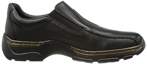 Rieker 18560 Zapatillas de casa de Cuero Hombre, Color