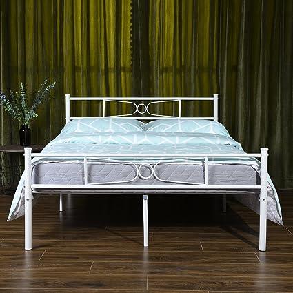 Amazoncom Gime Full Size Bed Frame Yanni Lesile Premium Platform
