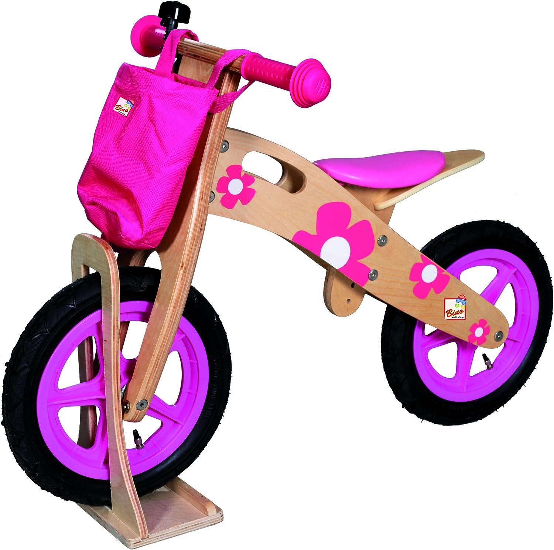 Nicko NIC874 Flamingo Children/'s Kids Girls Pink Wooden Balance Bike 2-5 Years