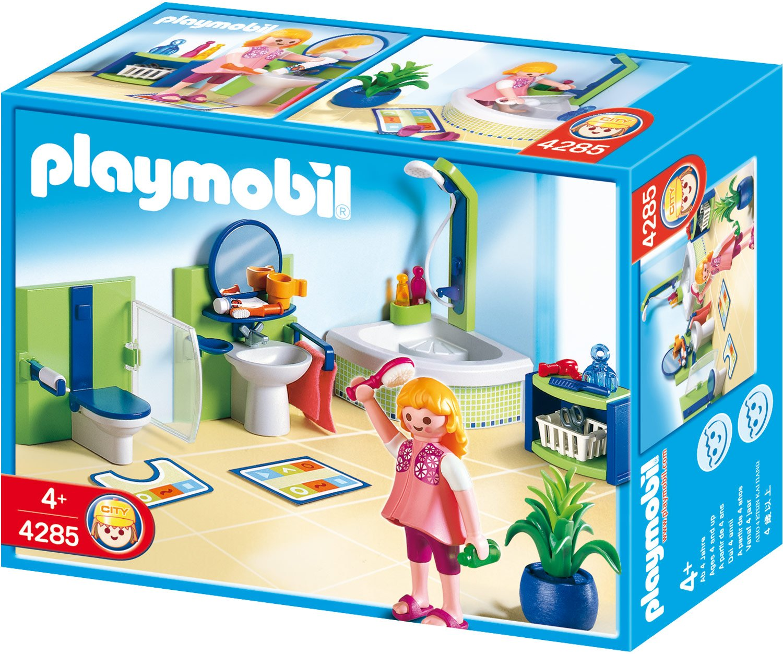 Salle De Bain Playmobil ~ playmobil 4285 jeu de construction salle de bains amazon fr