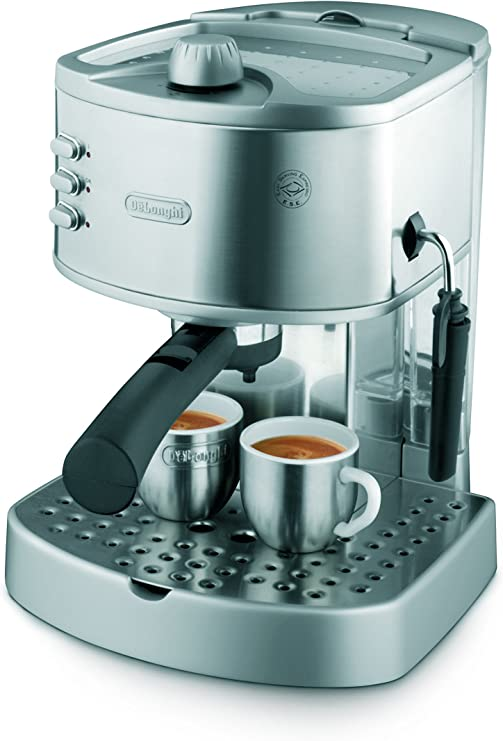 DeLonghi America EC330 Icona Collection Pump Espresso Machine, Stainless Steel
