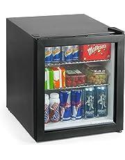 bar@drinkstuff Frostbite Mini Fridge Black - 49ltr Compact Refrigerator Holds 45 x 330ml Cans   A+ Energy Rating