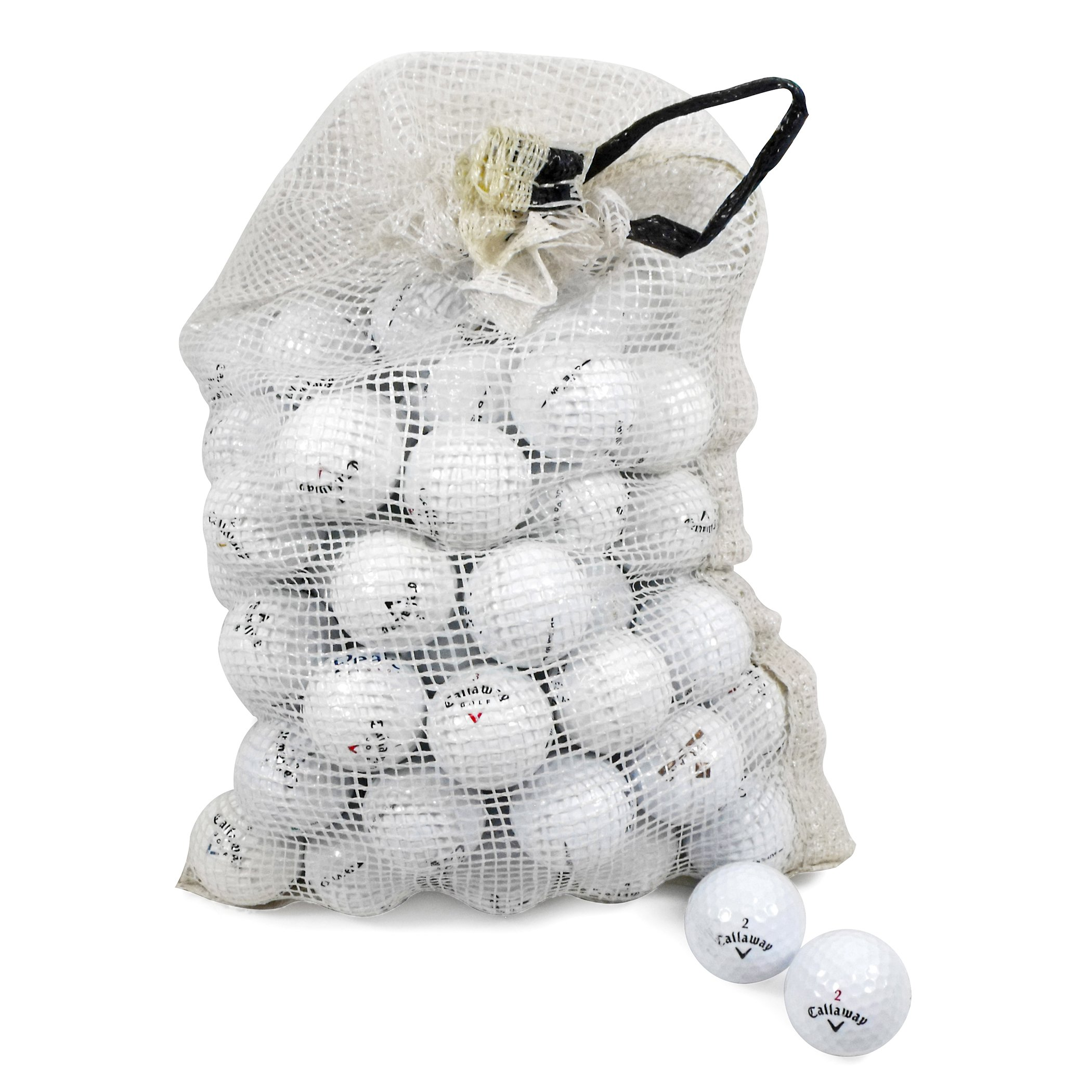 Callaway Assorted Models Recycled B/C Grade Golf Balls in Onion Mesh Bag (72-Piece) by Callaway