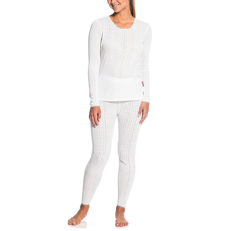 Gregster Damen Skiunterwäsche Hydrothem, Weiß, M, 12319-002 Weiß 12319-002-M_002_M