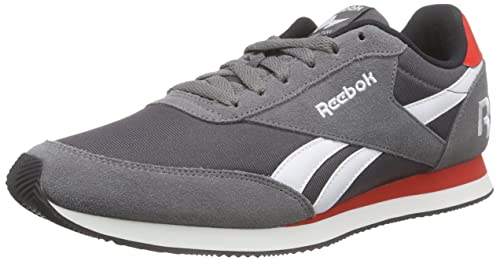 Reebok Men's Royal Classic Jogger 2RS Running Shoes, Grau (Shark/Ash Grey/