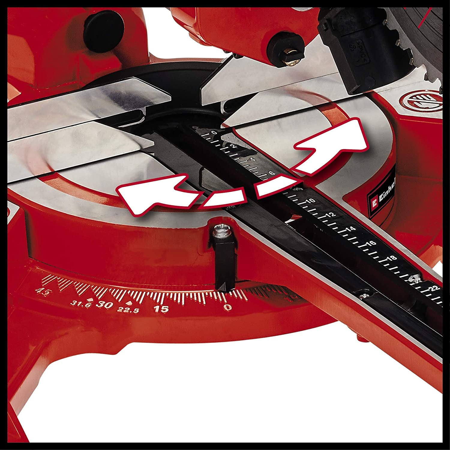 Einhell 4300390 TC-SM/2131//1/Dual Scie /à onglet radiale