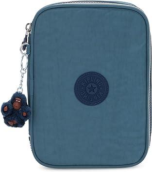 Kipling 100 PENS Estuche Grande, Azul (Baltic Aqua): Amazon.es: Equipaje