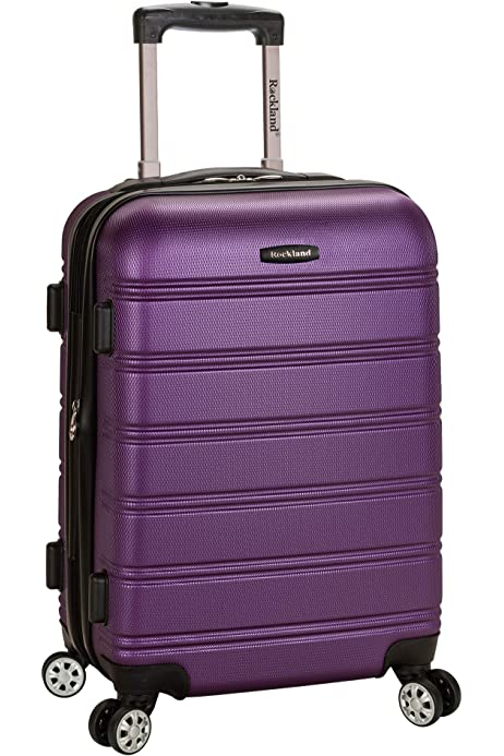 48 cm Violet Purple Gone Travelling Scuit Case Bagage Enfant