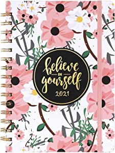 2021 Planner - Weekly & Monthly Planner 2021 with Tabs, 6.4