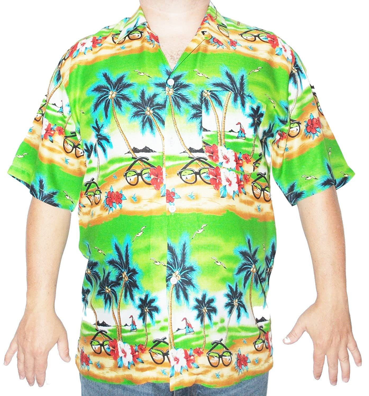 d0d55f739 Mens Hawaiian Shirt Sunglasses: Amazon.co.uk: Clothing
