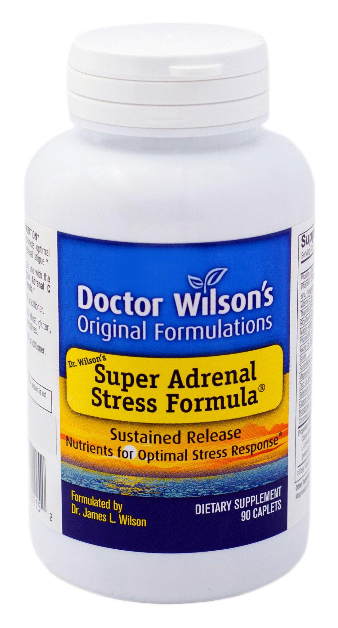 Doctor Wilson's Original Formulations Super Adrenal Stress Formula 90 caplets