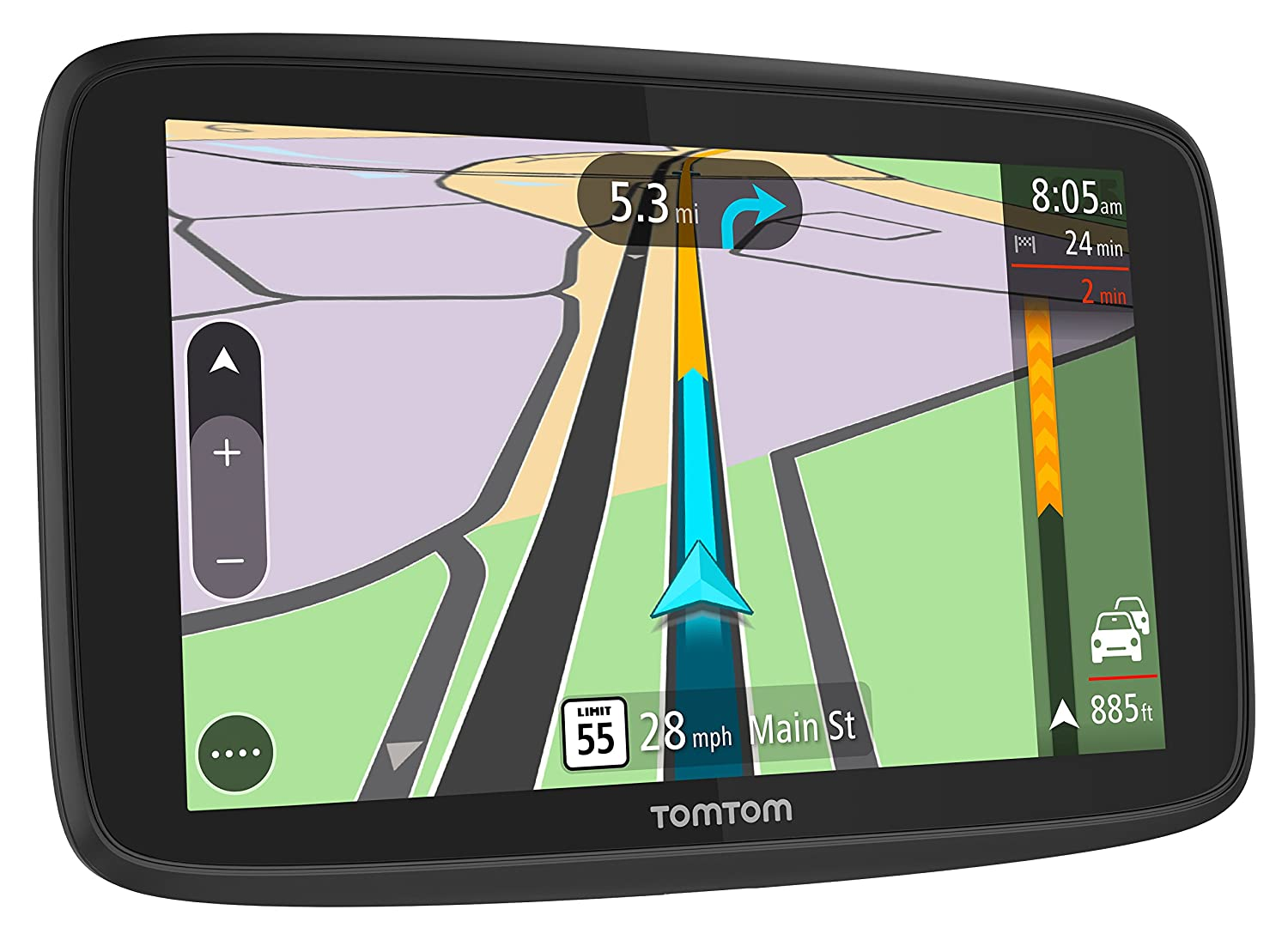 TomTom Trucker 620 6-Inch GPS Navigation Device for Trucks with Wi-Fi Connectivity Smartphone Services and Free Lifetime Traffic and Maps of North America