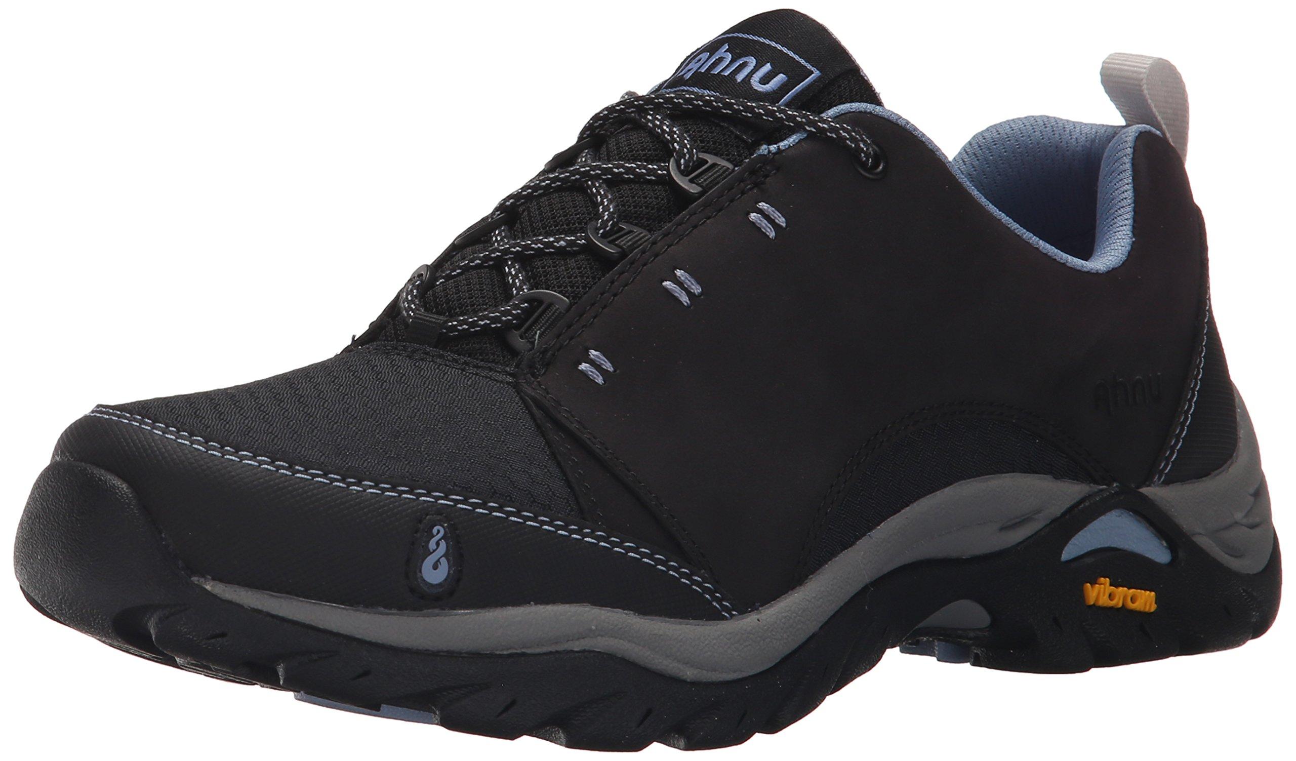 Ahnu Women's Montara Breeze Hiking Shoe, Black, 6.5 M US